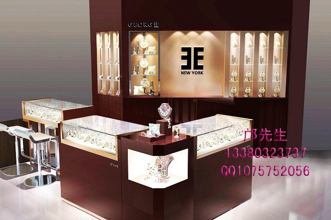 【设计说明】:此款 珠宝展柜从打样到切料到车料再