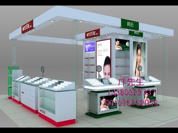 韩后化妆品展柜