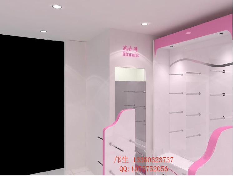 也可我们设计制作; 服装展示柜尺寸