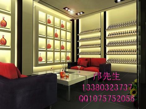 白酒展示柜设计效果图