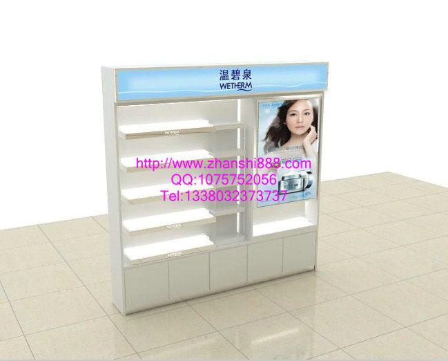 温碧泉化妆品展柜
