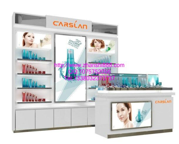 卡姿兰化妆品展柜设计