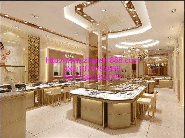 高端大气的珠宝展示柜设计要点
