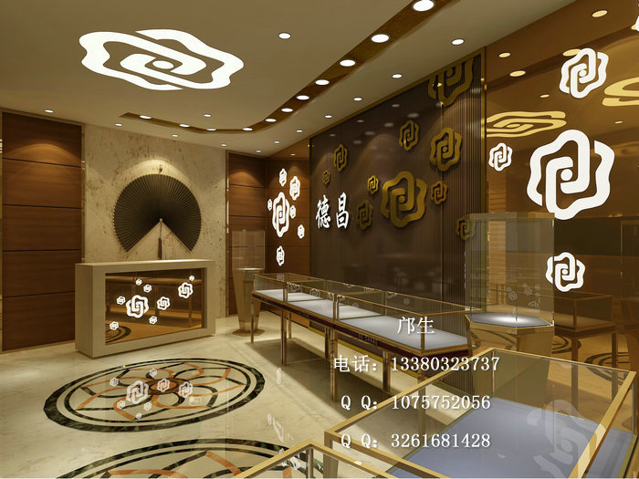 传统文化元素在珠宝展示柜设计制作中的应用
