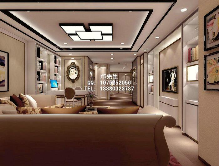 欧式珠宝店面设计 欧式珠宝展示柜在中国逐渐的受到追捧,在引进元素方面,中西文化元素的融合是必不可少的一环。设计师在设计店面时会很好的把控中西文化元素的比例,从而突显一款时尚、现代、富有中西文化内涵的欧式珠宝展柜。 本文来源与http://www.zhanshi888.com转载请注明出处