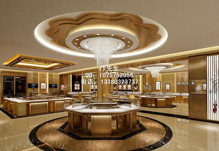 臻品珠宝展柜与店面装修设计