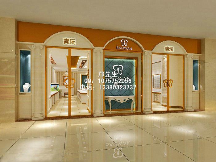 欧式珠宝展柜及店面设计风格特点