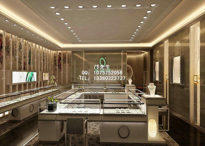 中式珠宝展柜兴起的缘由及其店面设计风格特点