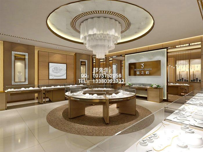 目前珠宝店在装修风格上有着多种多样的选择,装饰材料有木纹、不锈钢、镜子、烤漆玻璃、地砖、大理石、皮革等,橱窗的造型和位置的变化也能带来不同的效果。当然同样的店面装修可以搭配不同材质的珠宝展示柜,只要色彩方面和结构方面符合整体效果即可。现在比较流行的柜台款式是不锈钢珠宝展柜和木质珠宝展示柜,两者之间有着许多共同之处,当然差异性也是比较明显。