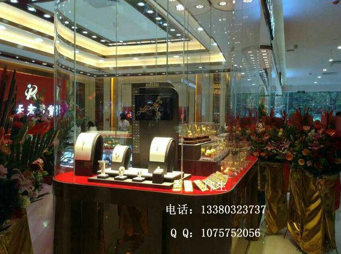商场珠宝橱窗展示柜