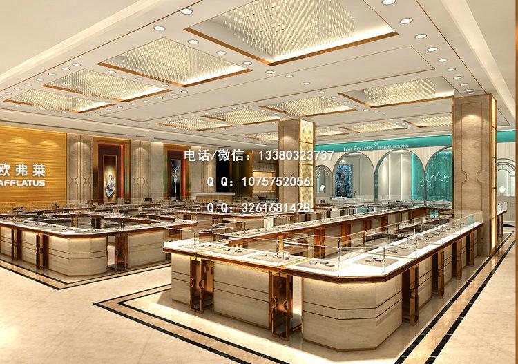 珠宝展示柜定制模式有利于展柜制作行业的向前发展