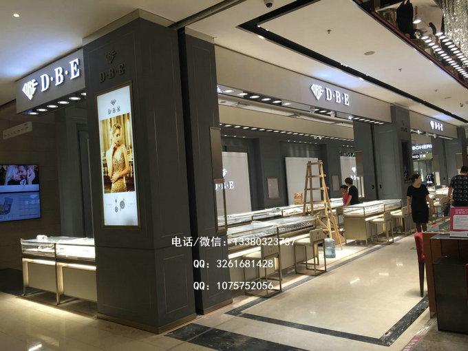 DBE衡阳晶珠广场店专柜案例
