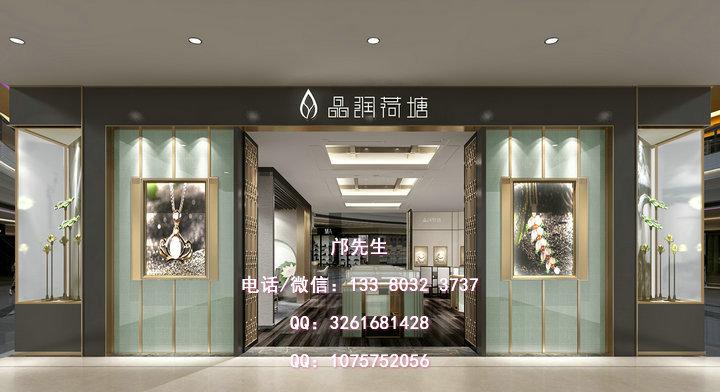 珠宝店橱窗展柜设计与陈列展示特点